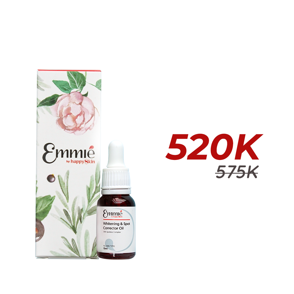 Emmie whitening & spot corretor oil limited edition