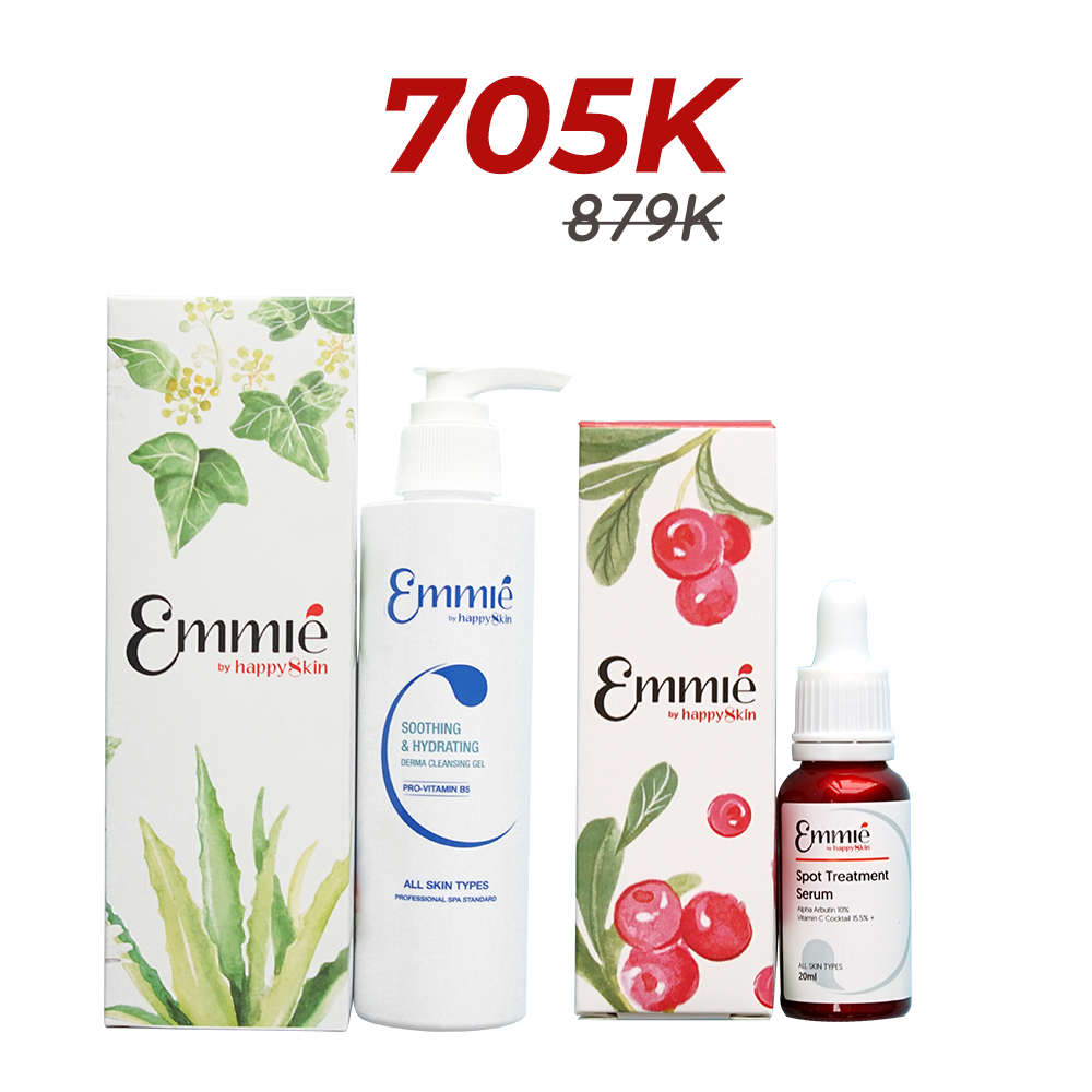 Combo Spot Treatment Serum and Soothing & Hydrating Derma Cleansing Gel Limited Edition